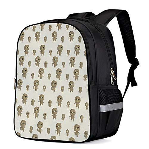 Laptop Backpacks for Kids Girls & Boys, Happy Halloween Mummy College Students School Bags Bookbag Casual Daypack - Lightweight, Water Resistant]()