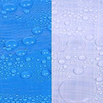 Tamaño : 4 * 8m M2 ZQZP Al Aire Libre Azul Y Blanco A Prueba De Polvo Cubierta De Lona A Prueba De Lluvia Tela A Prueba De Agua Aislamiento Térmico Sombrilla Tela De Plástico Crepe 140 G