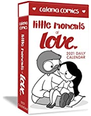 Catana Comics Little Moments of Love 2021 Deluxe Day-to-Day Calendar