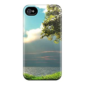 Awesome Cases Covers/iphone 6 Defender Cases Covers(fullmoon Sunsetting Scene)
