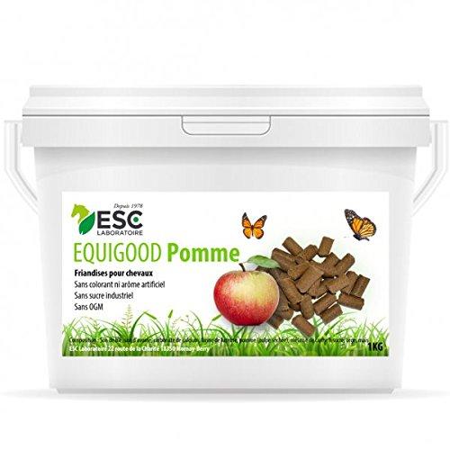 ESC Laboratoire - Friandises pour Chevaux - Equigood - Fruit Pomme. 1 kg.