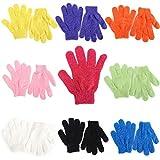 2 Pcs Exfoliating Gloves Bath Gloves, Shower Gloves Body Scrubber Body Remove Dead Skin, Color Random