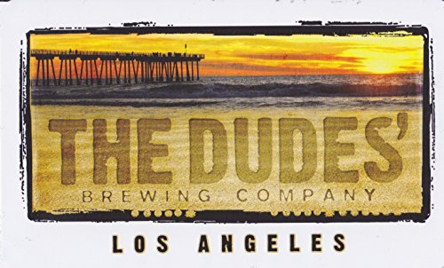 (The Dudes Brewing Company - Los Angeles - Logo Sticker)