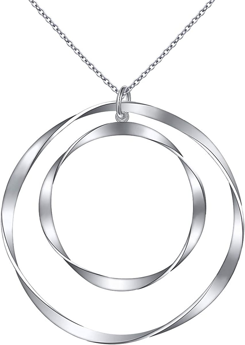 Long Silver Chain Simple Silver Chain Long Necklace Metalwork by RiverGum Jewellery Silver Organic Hoop Chain Long Layering Chain