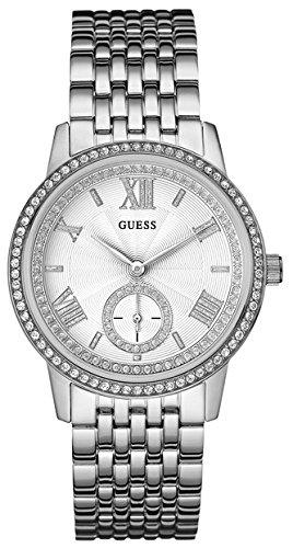 Guess W0573L1 - Reloj con Correa de Metal, para Mujer, Color Plateado: Amazon.es: Relojes