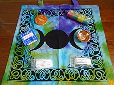 Wicca Witchcraft Travel Altar Spell Kit by Witch SuperCenter