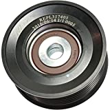 Evan-Fischer EVA4261261633 Accessory Belt Idler Pulley for Lexus LX470 Land Cruiser 98-07 SC430 02-10 Grooved Pulley