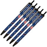 Chicago Cubs 5 Pack of Click Pens