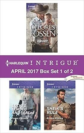 Harlequin Intrigue Carol Ericson lot of 5 large print Romantic suspense PB