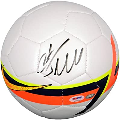 7bd775df2ec Cristiano Ronaldo Autographed Soccer Ball - PSA ITP - PSA DNA Certified - Autographed  Soccer Balls