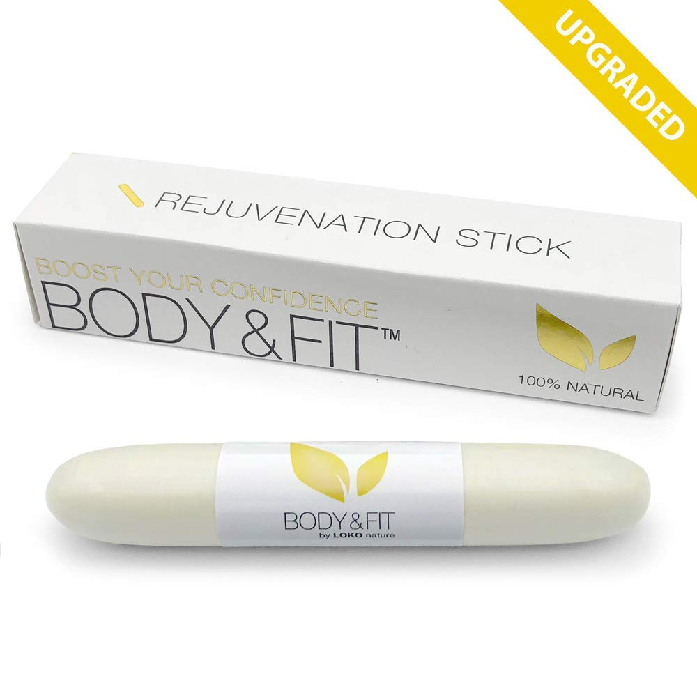 Upgraded Vaginal Tightening Rejuvenation Stick with All Natural Herbal Blend, Vaginal Detox for Female Healthy Support, and Fast Result by BODY&FIT