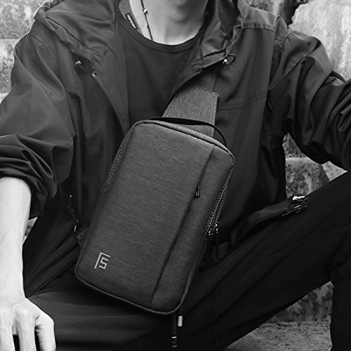 à et air Sac Bandoulière BMKWSG Homme Un Sling de de Léger pour Femme avec Dos Style épaule Sac Sports Plein Poitrine Décontracté qEnxRA0n