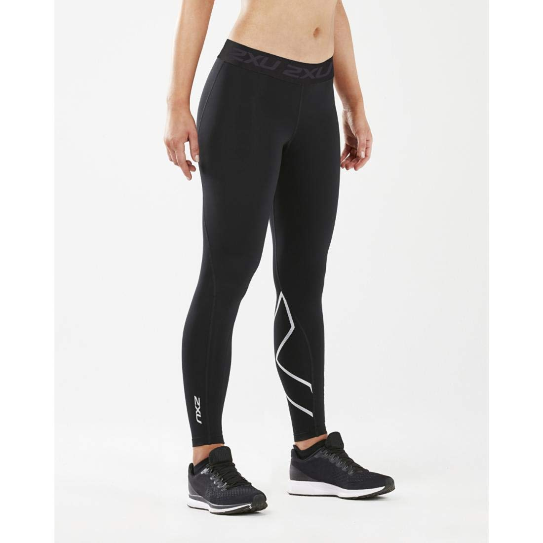 2XU Women's Thermal Compression Tights Black/Silver X-Large R R