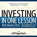 Investing in One Lesson  | Mark Skousen