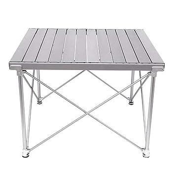 Table Portative Camping En De Sac AluminiumLéger Pliable Avec 54LARj