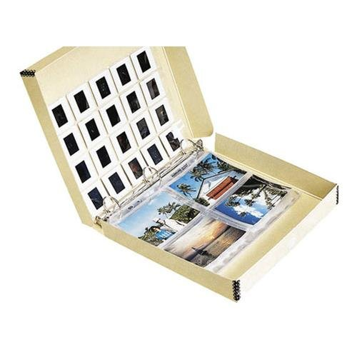 - Lineco Oversized Archival 3-Ring Album Box with Clamshell Style Lid, 12.25 x 11.25 x 2