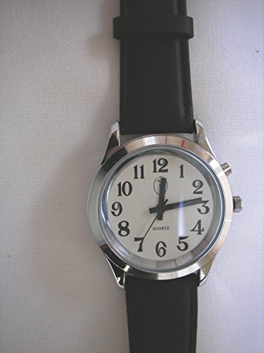 Ladies Deluxe Talking Wrist Watch Silver Tone for the Blind and Low Vision by Active Products Plus