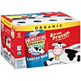 Horizon Organic Lowfat Milk 12-8 fl. oz. Milk Boxes (Pack of 3)