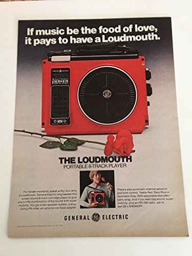 1975-ge-loudmouths-portable-8-track-player-magazine-print-ad