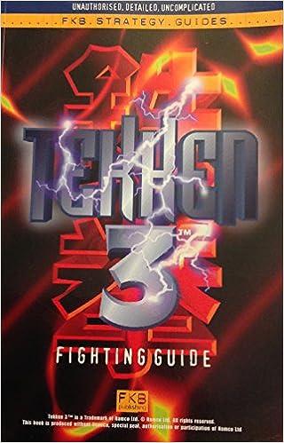 Tekken 3 Fighting Guide: Amazon co uk: Andrew Dixon: 9781902160023