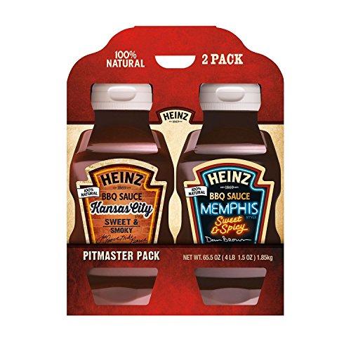Heinz Pitmaster BBQ Sauce - Kansas City and Memphis Style