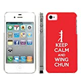 Mobiflare Apple Iphone 4/4S Keep Calm and Wing Chun Snap On Protective Artistry Design Case