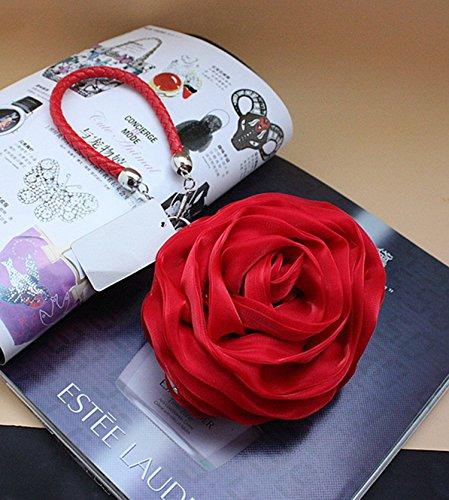 Soir En de Forme de Face Sac Rose Double Rqax06nw