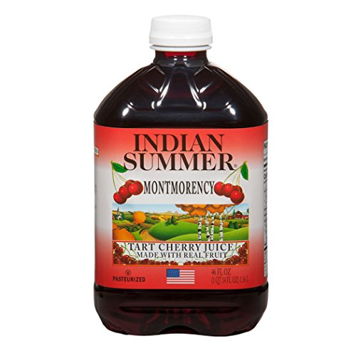 Indian Summer 100% Juice, Montmorency Cherry, 46 Ounce (Pack of 8) ()