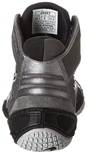 Asics Mens Omniflex-Attack Wrestling Shoe Charcoal/Black/White nGUGffkl