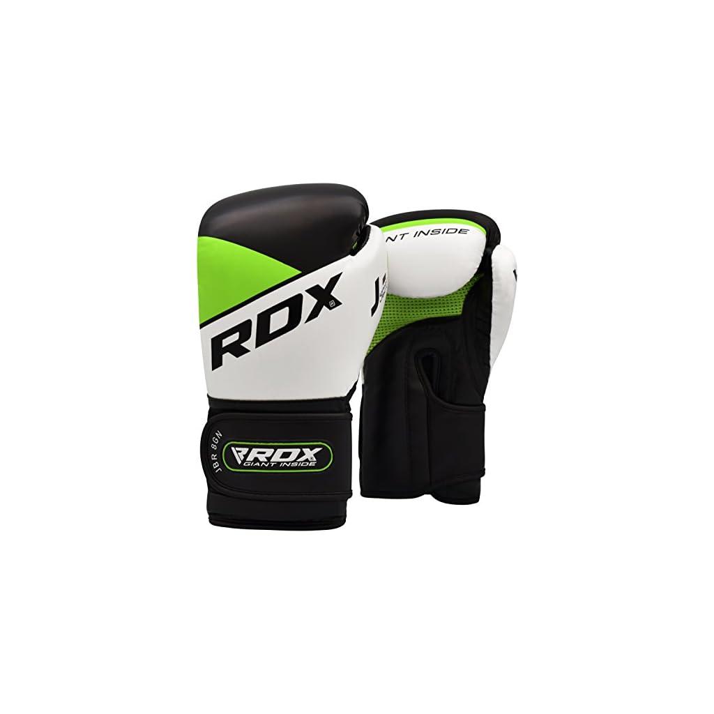 RDX-Bambini-Sacco-da-Boxe-Pieno-Arti-Marziali-MMA-Sacchi-Pugilato-Muay-Thai-Kick-Boxing-con-Guantoni-Allenamento-Catena-Gancio-Soffitto-2FT-Junior-Punching-Bag-Set