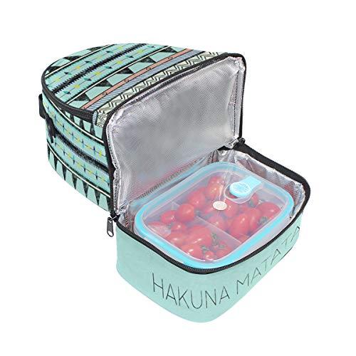 vintage à pique Cooler Sac Sangle nique pour réglable double Hakuna épaule déjeuner Matata q4FwBCYFE