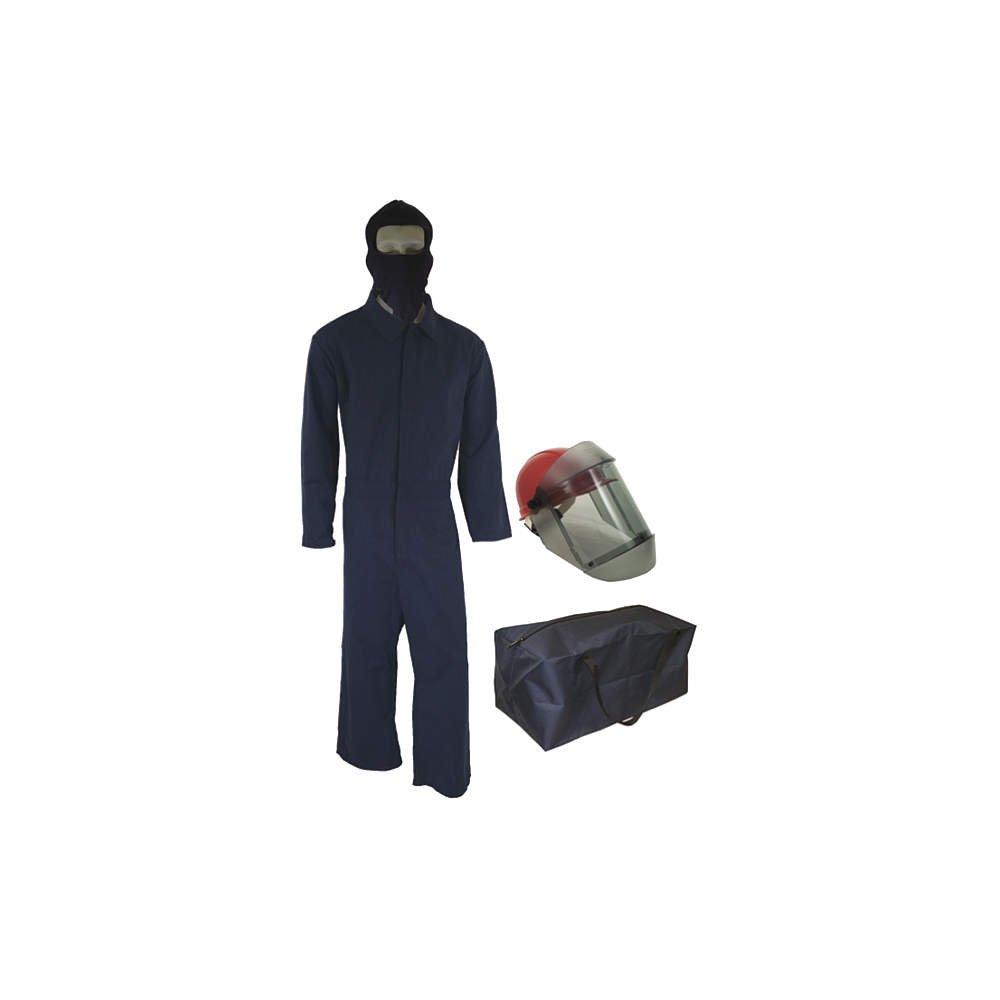 Arc Flash Suit Kit, Gray, 2X: Amazon.com: Industrial ...