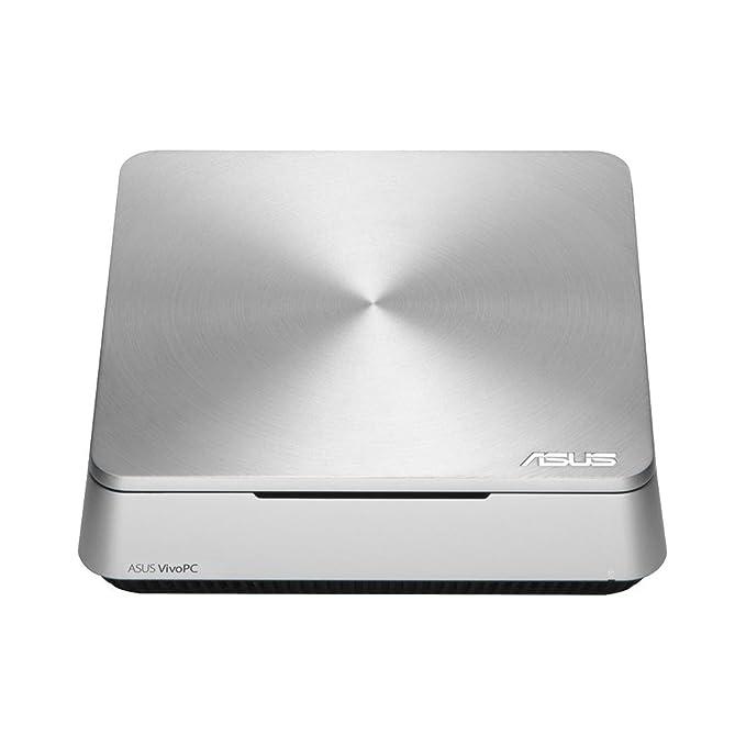ASUS VivoPC VM42-S043V 1.4GHz 2957U Intel Celeron Plata Mini PC - Ordenador de sobremesa (1,4 GHz, Intel Celeron, 2957U, 2 GB, 500 GB, Windows 8.1): ...