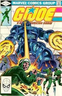 GI JOE #3 marvel comics 1982 1st print g.i.