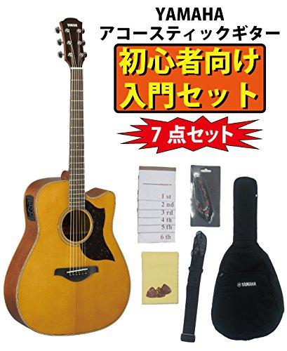 YAMAHA ヤマハ エレアコギター A1M VN ヴィンテージナチュラル 初心者7点セット  ヴィンテージナチュラル(VN) B078BX8V9F