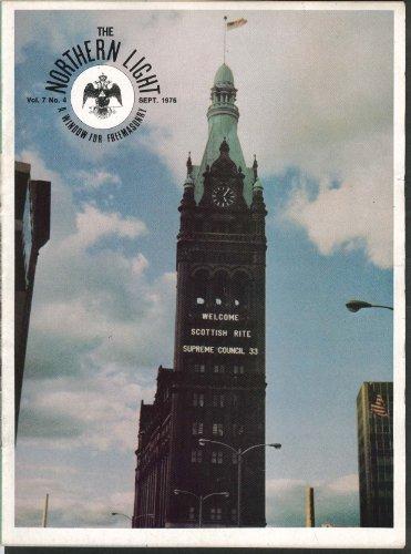NORTHERN LIGHT Vol 7 #4 Revolutionary Heroes Rhode Island Masonic Lodge 9 1976