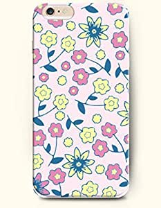 Case Cover For SamSung Galaxy S6 Big and Small Blooming Flowers