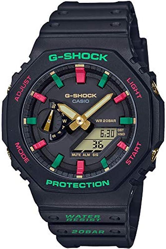 CASIO G-SHOCK 시계 슬로우 백 1990s 카본 코어 가드 GA-2100TH-1AJF