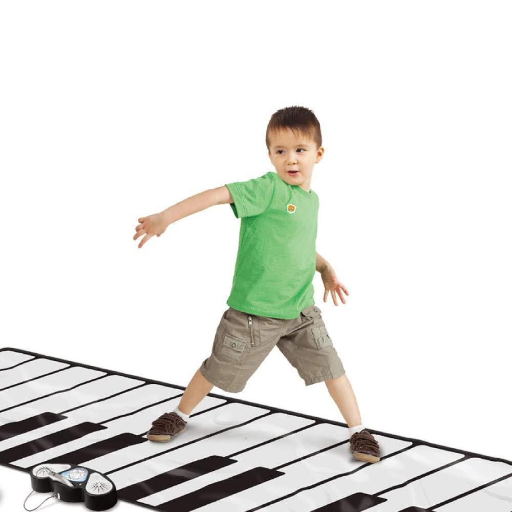 QXMEI Children's Educational Foot Dance Mat Multi-Function Electronic Piano Toy 26074 cm