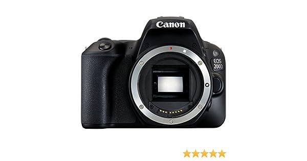Canon EOS 200D + 18-55 DC - Cámara digital de 25.8 megapíxeles ...