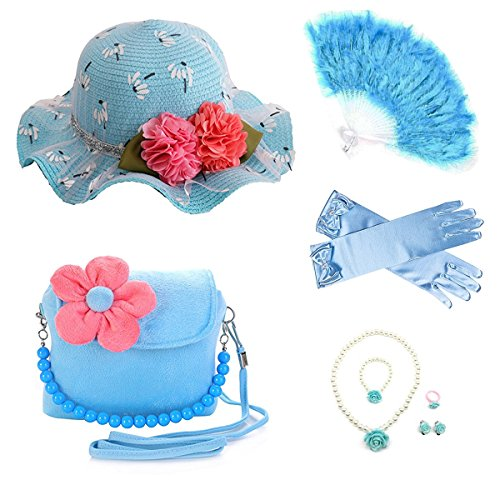 GILAND Girls Sunhat Handbag jewelry product image