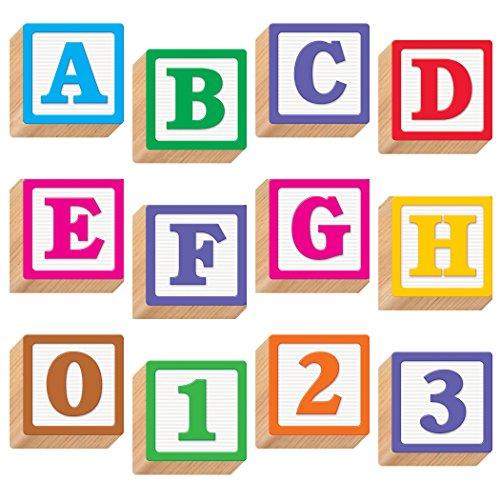 "TREND enterprises, Inc. Wooden Blocks 4"" Combo Ready Letters -  T-79851"