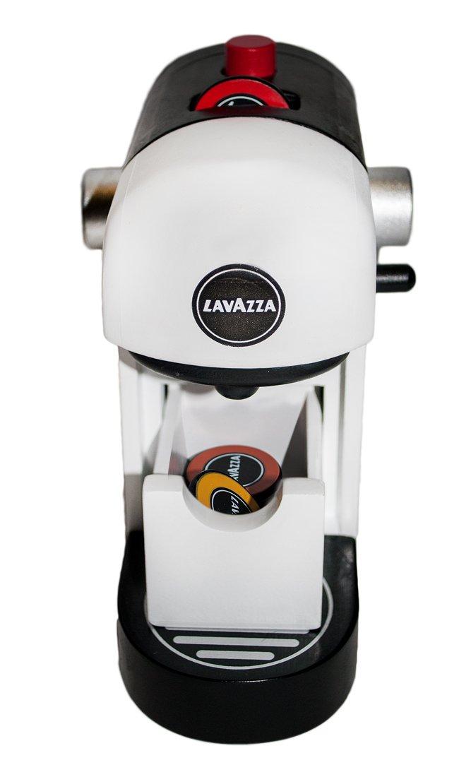 Lavazza Kaffeeautomat aus Holz Kleinkindspielzeug