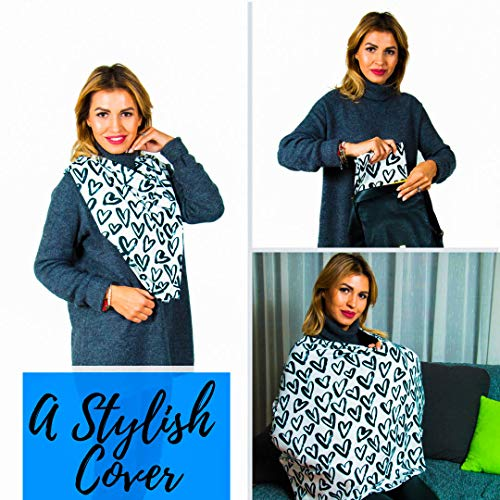 6010879b65326 Breastfeeding Cover – Nursing Cover Scarf - Infant Car Seat - Import It All