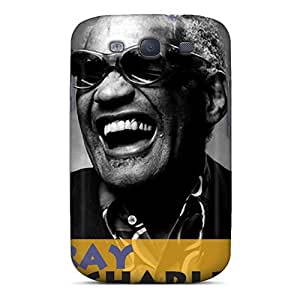 Fashionable FXWaVKY1987fDTFc Galaxy S3 Case Cover For Ray Charles Protective Case