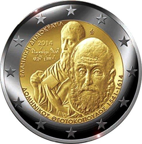 Greece 2 Euro Coin 2014
