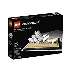 270 Pieces, Beautiful Sydney Opera House Building Set - 51KcWdA6g1L - 270 Pieces, Beautiful Sydney Opera House Building Set