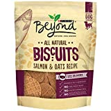 Purina Beyond Natural Dog Snack, Biscuits, Salmon & Oatmeal Recipe, 9-Ounce Pouch, Pack Of 5 For Sale