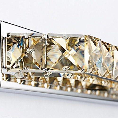 Lozse LED Spiegelleuchten Kristall Bad Lichter Bad Spiegelleuchten