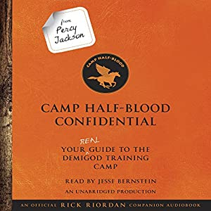 From Percy Jackson: Camp Half-Blood Confidential Audiobook
